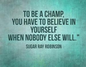 Sugar Ray Robinson Quotes (Images)