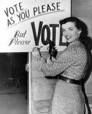... elections, voting, ballots, and even local elections of all sorts