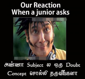 Funny Engineering college student's funny reactions | vivek funny ...