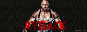 WWE superstar Ryback Quotes Facebook Cover photo