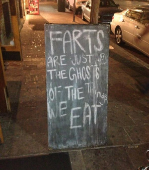 more fart ghosts lol funny farts signs