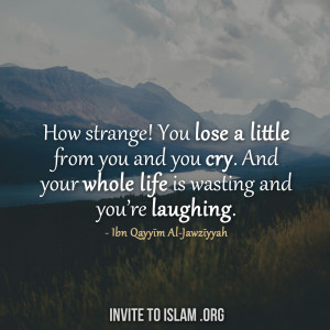 ... Quotes » Ibn Qayyim Al-Jawziyyah Quotes » How Strange ~ Parable of