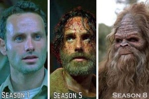 funny-Rick-Walking-Dead-beard-seasons