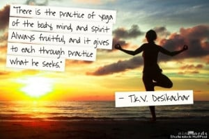 Here are some personal photos, quotes from great yogis and a yoga ...
