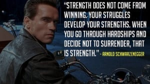 ... From Arnold Schwarzenegger To Make You The Terminator Of Your Industry