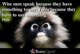 plato wise men speak quote