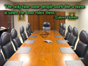 Bosses Quotes