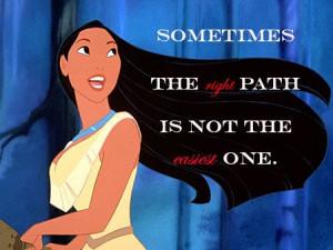 Disney Quote Pocahontas: