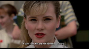 Cry Baby- LOVE this movie.