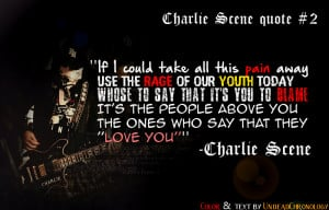 Hollywood Undead Quotes About Life Charlie scene quote #2 (from