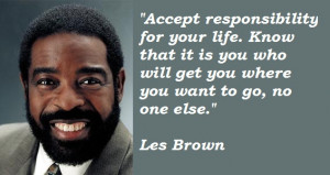 Les Brown Quotes for You to Live By