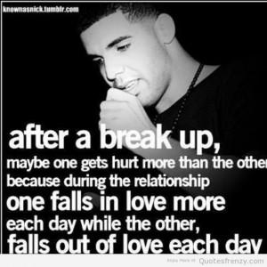 drake heartbreak Quotes
