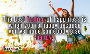 Happiness Quotes –