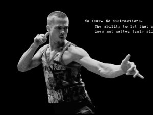 1280x960 quotes fight club brad pitt typography grayscale tyler durden ...
