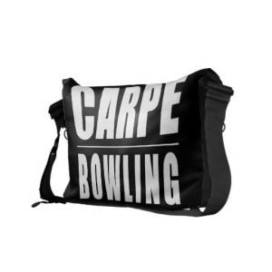 Funny Bowlers Quotes Jokes : Carpe Bowling Messenger Bag