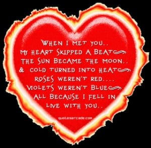 Burning Heart Whatsapp Quotes Download Free