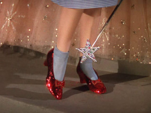 The Wizard of Oz Dorothy's Shoes