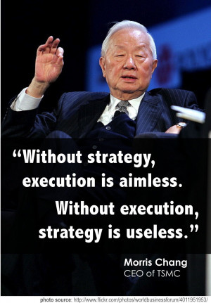 Without strategy, execution is aimless. Without execution, strategy is ...