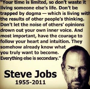 sayings of Steve Jobs