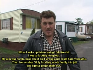 One reason to love Canada's hit show Trailer Park Boys! Which I don't ...