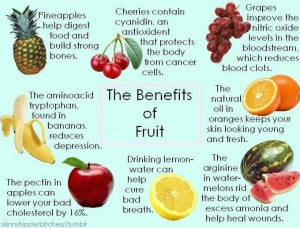 Health Benefits of eating fruits like Pineapples, Cherries, Grapes ...