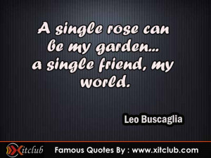 You Are Currently Browsing 15 Most Famous Quotes By Leo Buscaglia