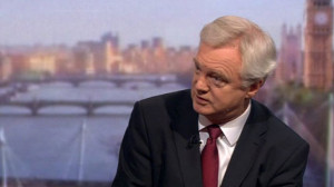 ... video of David Davis on The Andrew Marr Show this page of the website