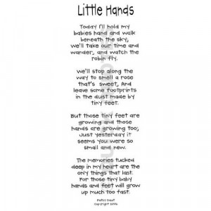 Little Hands Vellum Quotes Kitchen & Dining