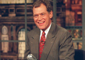 David Letterman, 1995. (Photo: File photo)