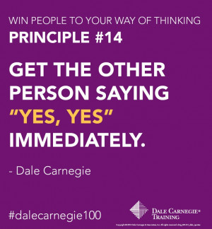 ... and learn more Dale Carnegie Training tips to Overcome Objections