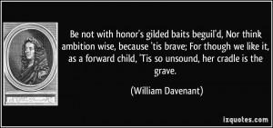 More William Davenant Quotes
