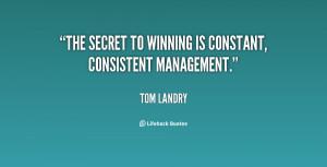 Motivational Quotes Tom Landry Health