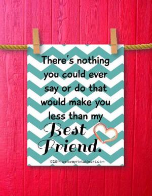 best friends quotes quote prints art prints frames quotes best friend ...