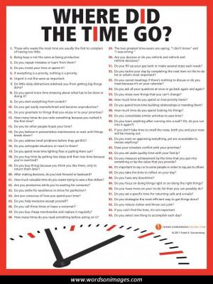 Time management famous quotes