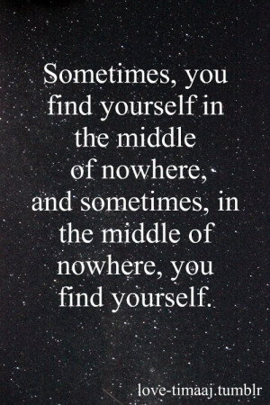 quotes about finding yourself