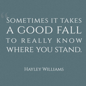 Where you stand picture quotes