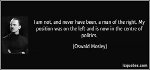 Oswald Mosley Quotes