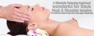 Indian Head Massage & Reiki Combo