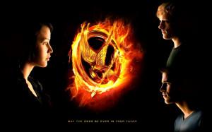 The Hunger Games HG wallpaper