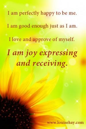 I Am Affirmation Quotes Quotesgram