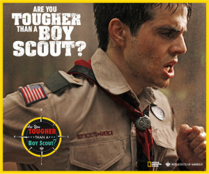 Are you Tougher Than a Boy Scout? - National Geographic Series