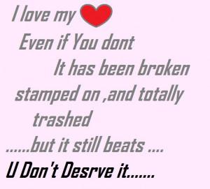 sad broken heart quotes for him broken heart quotes sad broken heart ...