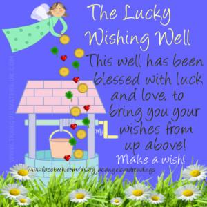 good luck, horseshoe, wishing well, lucky charm, lucky butterfly ...