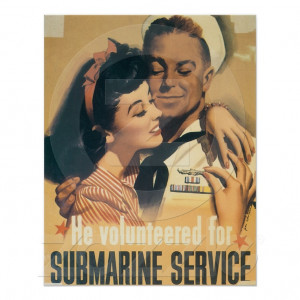 Submarine Service U.S. Navy USN Posters from Zazzle.com