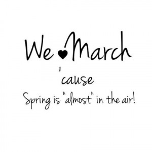 Hello March 2015 Quotes, Saying and Pictures