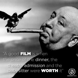 Alfred Hitchcock. #film #movie #quotes