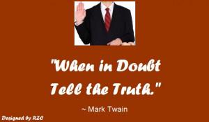 Quotes of Mark Twain: