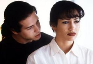 Selena (1997) Jon Seda as Chris Perez and Jennifer Lopes as Selena
