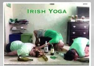 Irish Yoga...