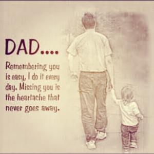 Missing Dad In Heaven Bill